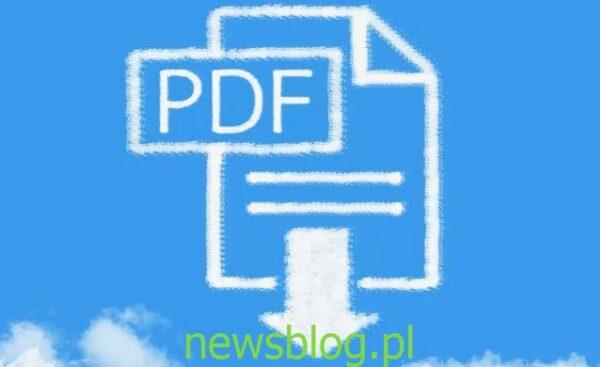 druk do pliku pdf