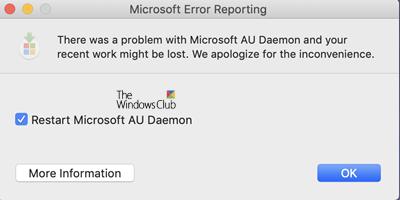 Microsoft AU Daemon