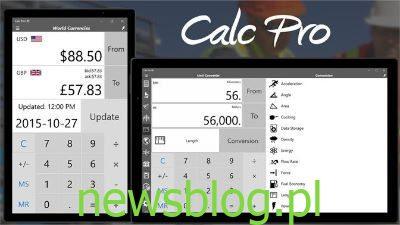 Bezpłatne aplikacje kalkulatora dla systemu Windows 10