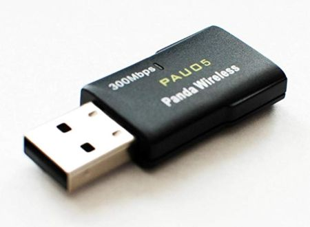 Bezprzewodowy adapter USB P Panda 300 Mb / s dla systemu Linux