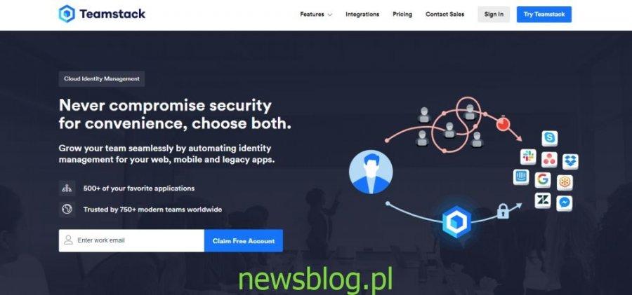 Bezpieczne, oparte na chmurze zarządzanie tożsamością za pomocą Teamstack