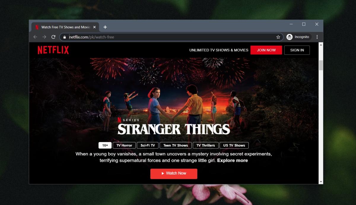 darmowe programy Netflix
