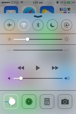 CCFlashLightLevel iOS CC