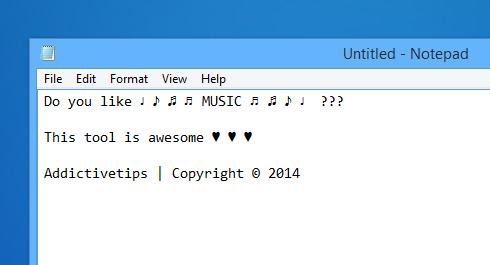 WinCompose - przykład