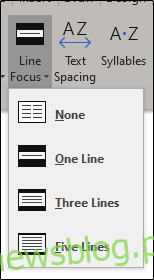 Line Focus