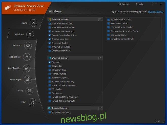 Privacy Eraser_Windows