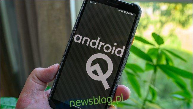 Jajko wielkanocne na Androida 10