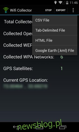 Wifi Collector_Export