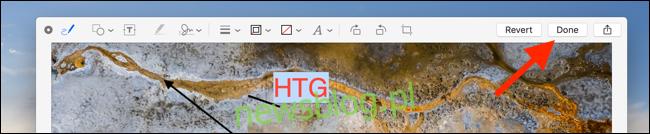 Kliknij Gotowe po zakończeniu edycji, aby zapisać obraz lub plik PDF