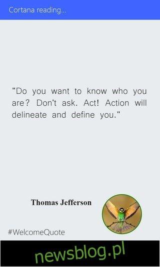 #Quotes WP8.1 Cortana Quote
