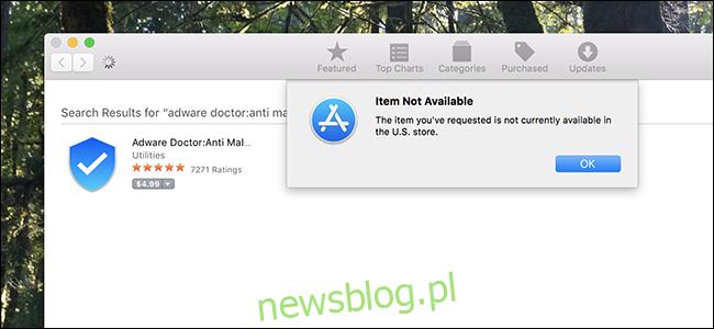 Adware Doctor w Mac App Store.