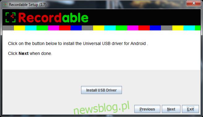 sterownik USB