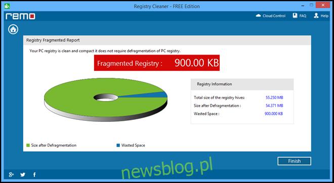 Registry Cleaner - wydanie DARMOWE