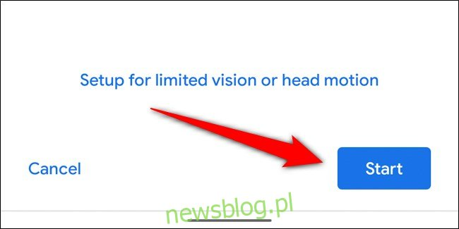 Google Pixel 4 Wybierz Start