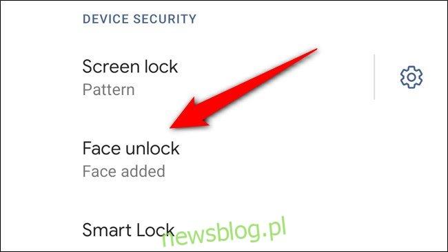 Google Pixel 4 Stuknij Face Unlock