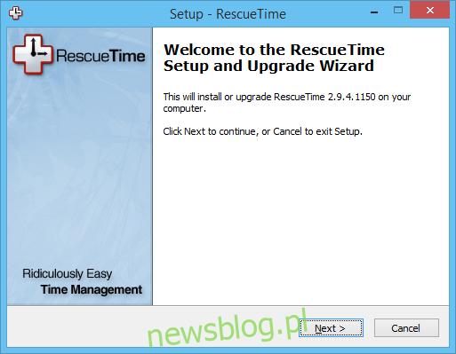RescueTime _ Aplikacja Windows