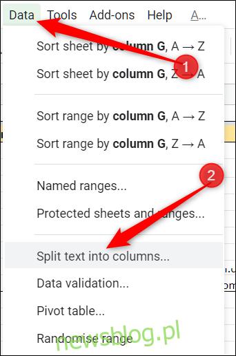 "Kliknij Dane> Podziel tekst na kolumny ""width ="" 342 ″ height = ""515 ″ onload ="" pagespeed.lazyLoadImages.loadIfVisibleAndMaybeBeacon (this); "" onerror = ""this.onerror = null; pagespeed.lazyLoadImages.loadIfVisibleAndMaybeBeacon (this);""> </p><div style="