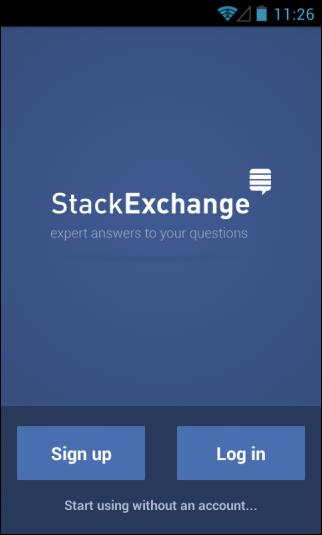 Stos Exchange_Zarejestruj się