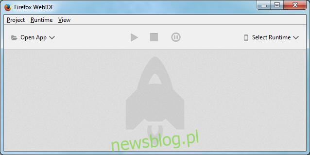 Firefox WebIDE