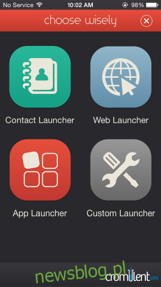 Launcher_select