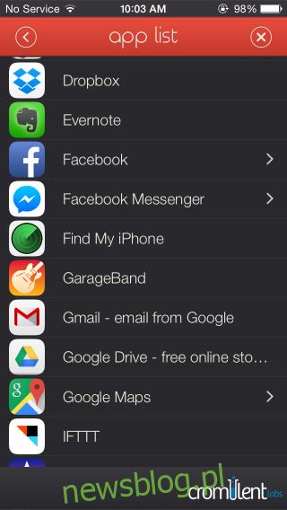 Lista Launcher_app