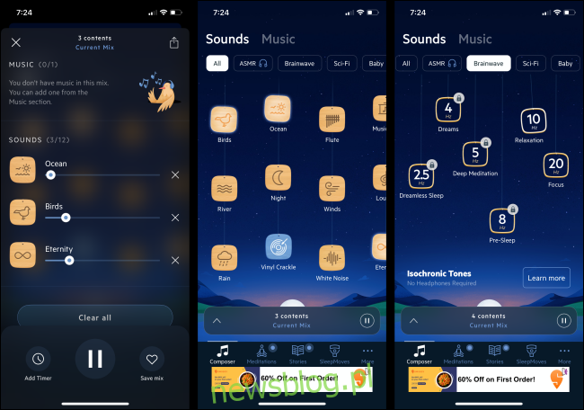 Aplikacja Relax Melodies na iPhone'a i Androida