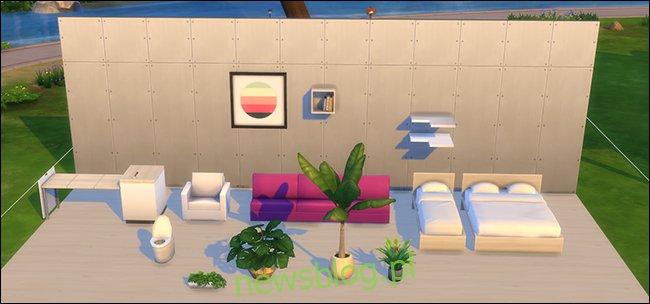 Umiejscowienie zawartości niestandardowej The Sims 4