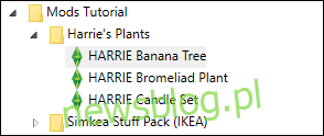 Rozwiń folder Sims 4 Studio