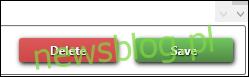 Przycisk Usuń w The Sims 4 Studio