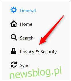 Prywatność i bezpieczeństwo w przeglądarce Firefox