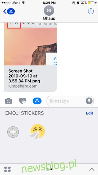 dodano emoji