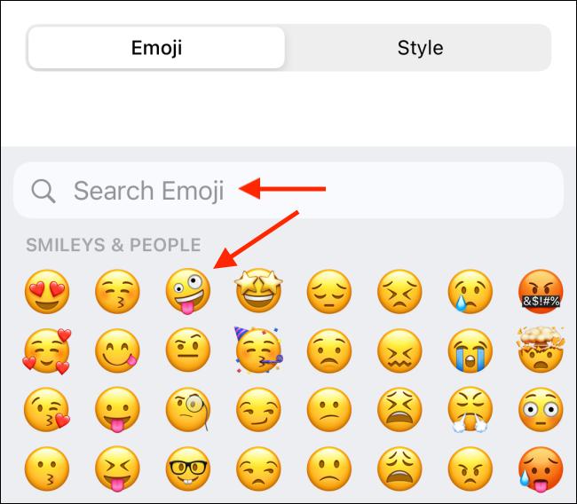 Wybierz Emoji