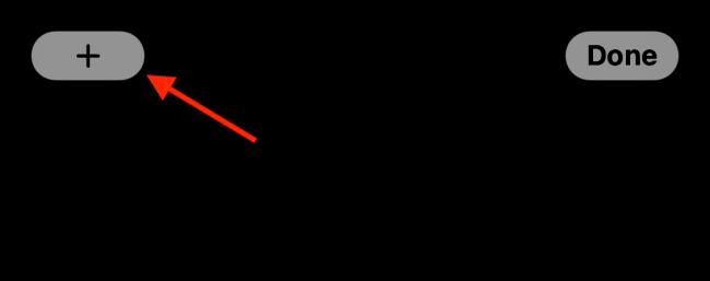 Kliknij znak plus (+).