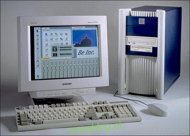 Oryginalny komputer stacjonarny BeBox.