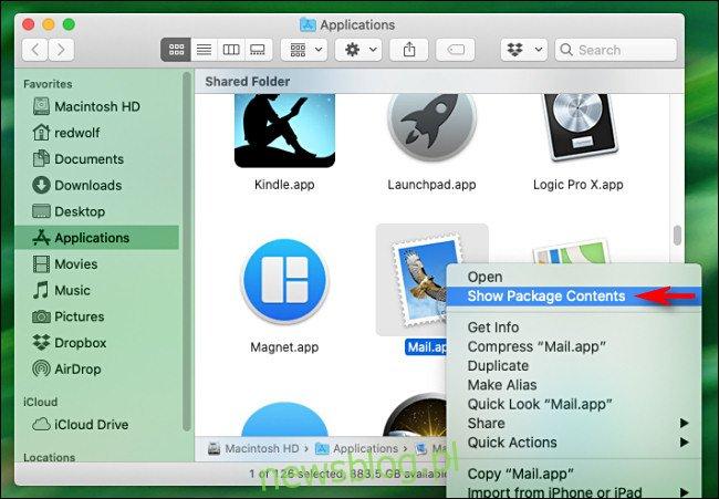 Kliknij aplikację prawym przyciskiem myszy i wybierz