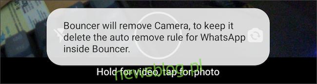 Przyznaj tymczasowe uprawnienia na Androida za pomocą aplikacji Bouncer