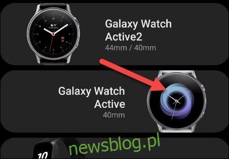 znajdź swój smartwatch