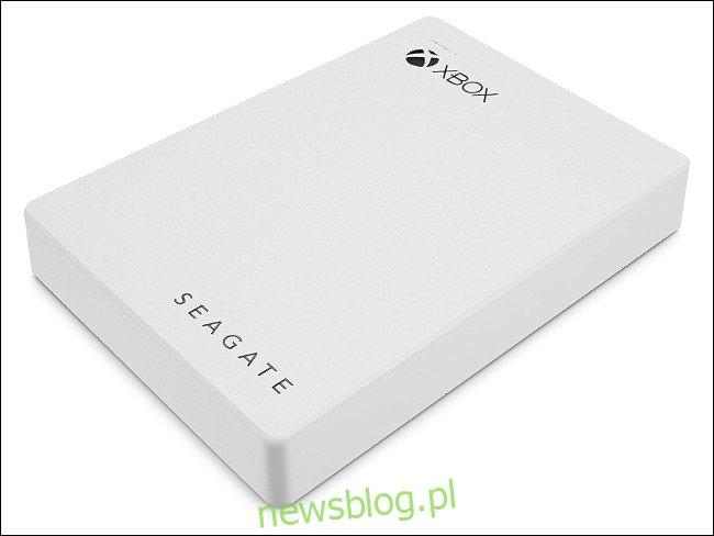 Zewnętrzny dysk twardy firmy Seagate Xbox