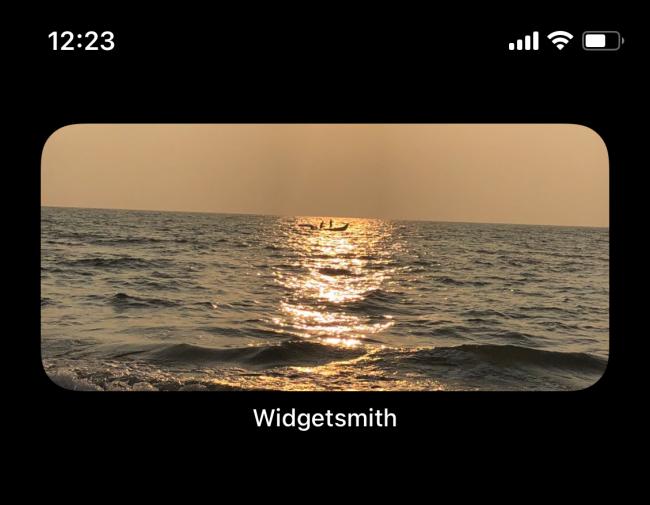 Widżet zdjęć na ekranie głównym iPhone'a