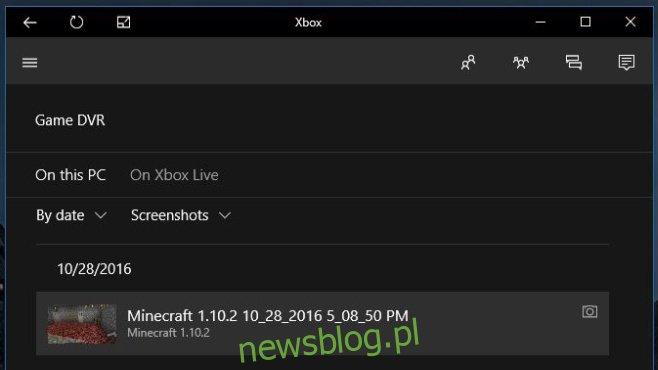 zrzut ekranu gamedvr-xbox