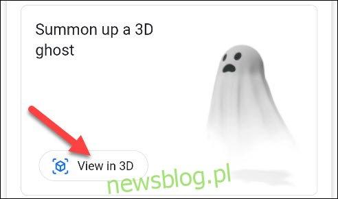 dotknij widoku 3D