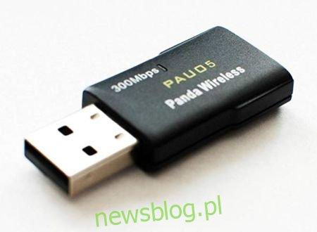 Bezprzewodowa karta sieciowa USB Panda 300 Mb / s, standard N dla systemu Linux