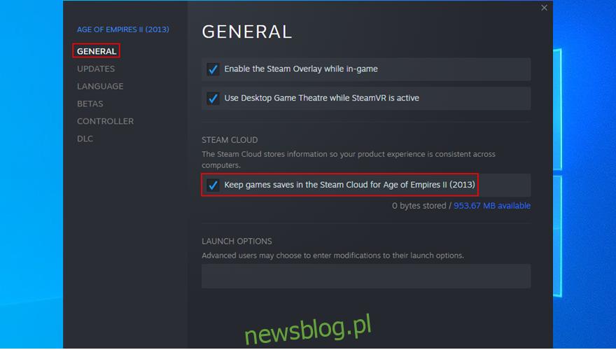 jak zachować zapisy gier w Steam Cloud