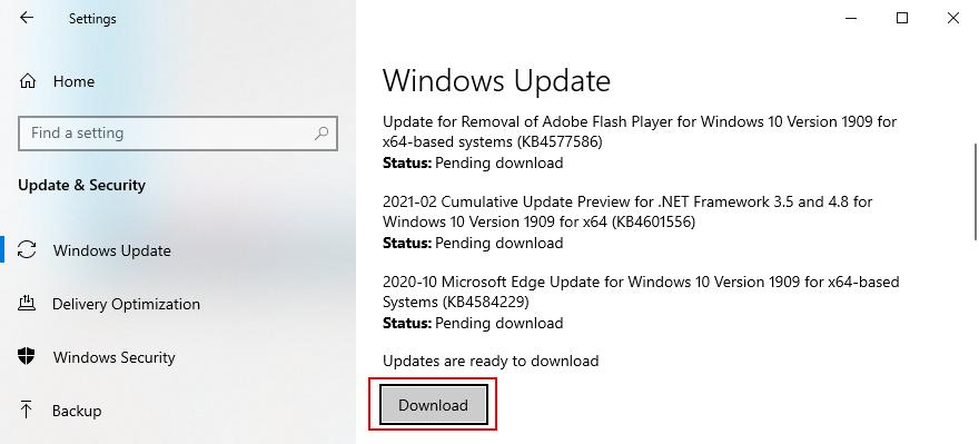 Windows 10 pokazuje, jak pobierać aktualizacje systemu